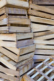 Crates Stock Photography