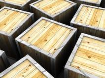 Crates Stock Photos