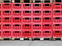 Crates of beer Royalty Free Stock Image