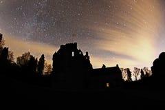 Crathes城堡 免版税图库摄影