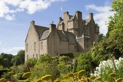 crathes Шотландия замока Стоковые Фото