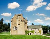 crathes Шотландия замока Стоковое Изображение RF
