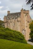 Crathes Castle in Autum Royalty Free Stock Photography