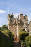 Crathes Castle in Scotland Stock Photo