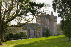Crathes Castle in Scotland Stock Image