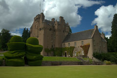 Crathes slott Royaltyfri Fotografi