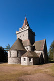 Crathie教会,阿伯丁郡,苏格兰 免版税图库摄影