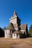 Crathie kyrka, Aberdeenshire, Skottland Royaltyfri Fotografi