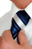 Cravat Knot Royalty Free Stock Photo