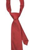 Cravate rouge Photo stock