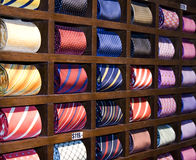 Cravates photographie stock libre de droits