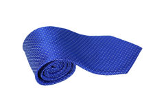 Cravatta blu Immagine Stock