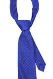 Cravatta blu Fotografie Stock