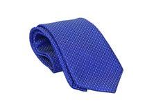 Cravatta blu Fotografia Stock Libera da Diritti