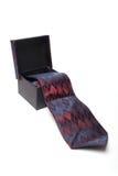 Cravatta in casella immagini stock libere da diritti