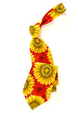 Cravatta del fiore Fotografia Stock