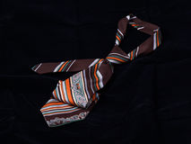 cravatta di stile 70´s Immagini Stock Libere da Diritti