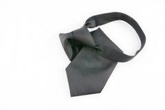 Cravatta nera Fotografie Stock Libere da Diritti