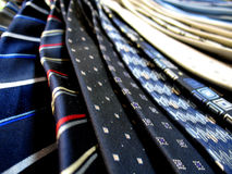 Cravatte fotografie stock
