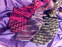Cravatte Immagini Stock Libere da Diritti