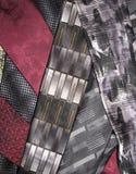 Cravatte astratte Fotografia Stock Libera da Diritti