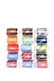 Cravatte in contenitori di regalo Fotografie Stock Libere da Diritti