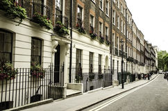 Craven Street, London Stock Image