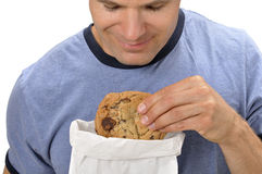 Craving a cookie Stock Photos