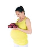 Cravings de grossesse Photos libres de droits