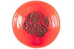 Cravo-da-índia na bacia Imagem de Stock