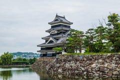 Craw' s-slott, Matsumoto, Japan Fotografering för Bildbyråer