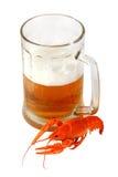 crawfish пива Стоковая Фотография