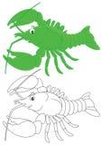 Crawfish stock illustration