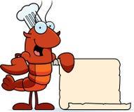 Crawfish Chef Recipe Royalty Free Stock Images