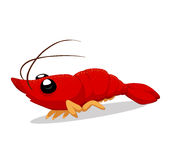 Crawfish so cute Stock Images