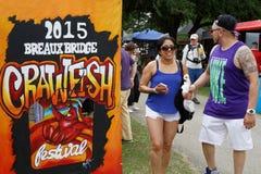 Crawfish Festival entrance Royalty Free Stock Photos