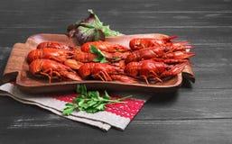 Crawfish food photo Stock Images