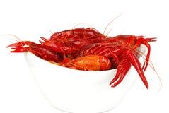 Crawfish In Bawl Royalty Free Stock Images
