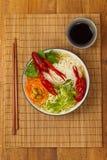 Crawfish Noodle Soup Royalty Free Stock Image