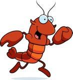Crawfish Running Royalty Free Stock Image