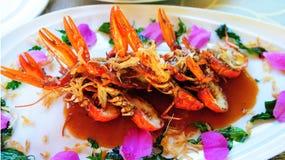 Crawfish Tamarind Sauce Royalty Free Stock Photo