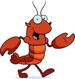 Crawfish Walking Royalty Free Stock Photo