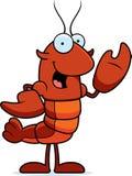 Crawfish Waving Royalty Free Stock Image