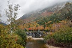 Crawford Notch State Park Stock Photography