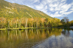 Crawford Notch State Park in the White Mountains, New Hampshire Royalty Free Stock Photography