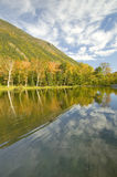 Crawford Notch State Park in the White Mountains, New Hampshire Royalty Free Stock Image