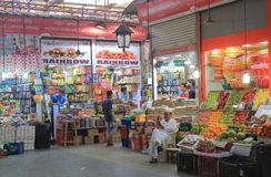 Crawford rynek robi zakupy Mumbai India zdjęcie royalty free