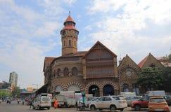 Crawfordmarkt het winkelen Mumbai India royalty-vrije stock foto's