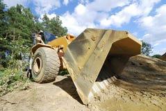 Crawler excavator Stock Photos