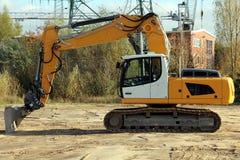 Crawler Excavator Royalty Free Stock Photo